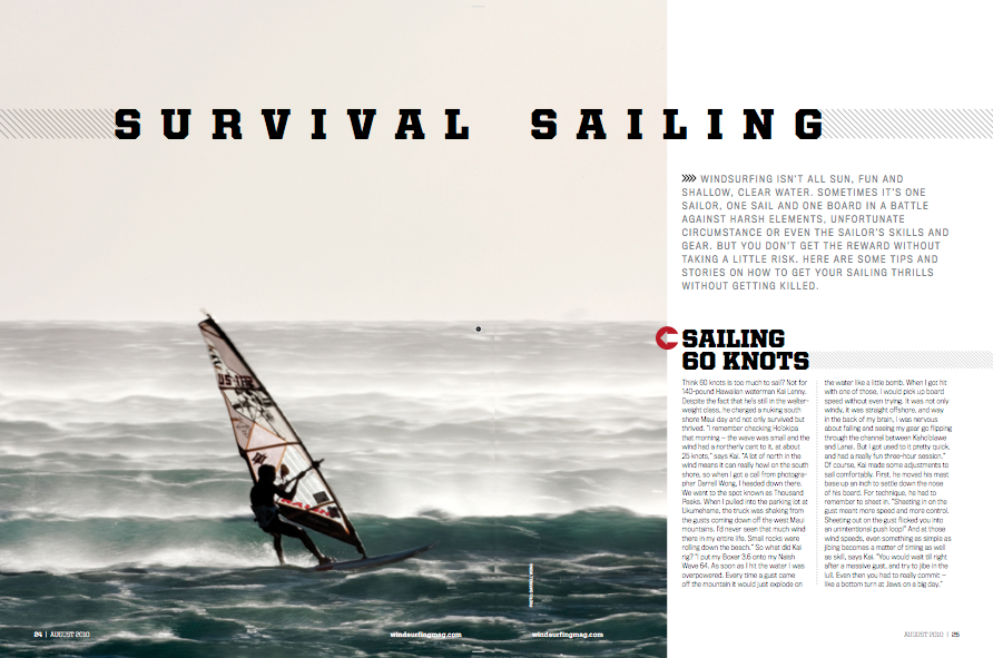 Survival Sailing