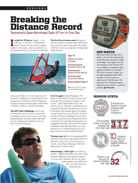 Breaking The Distance Record